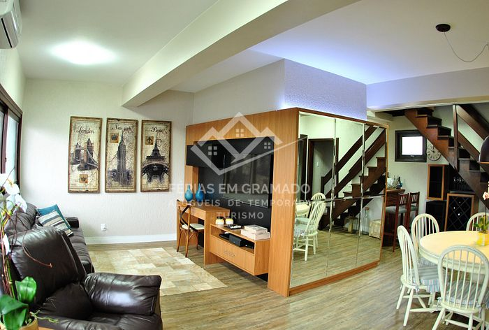 Beautiful Duplex in Gramado up to 6 people.