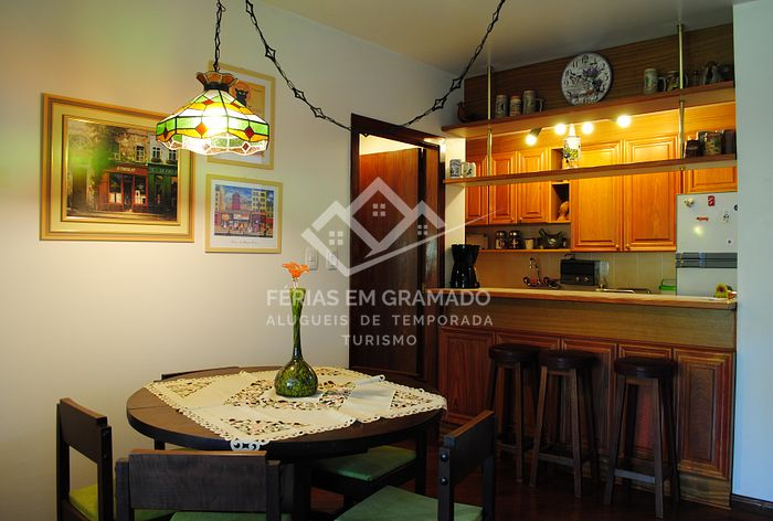 Holiday apartment in Gramado, with view to Lake Joaquina Rit
